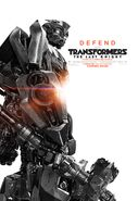 Transformers the last knight poster bumblebee