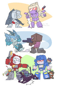 Transformers 2k5 rivalry