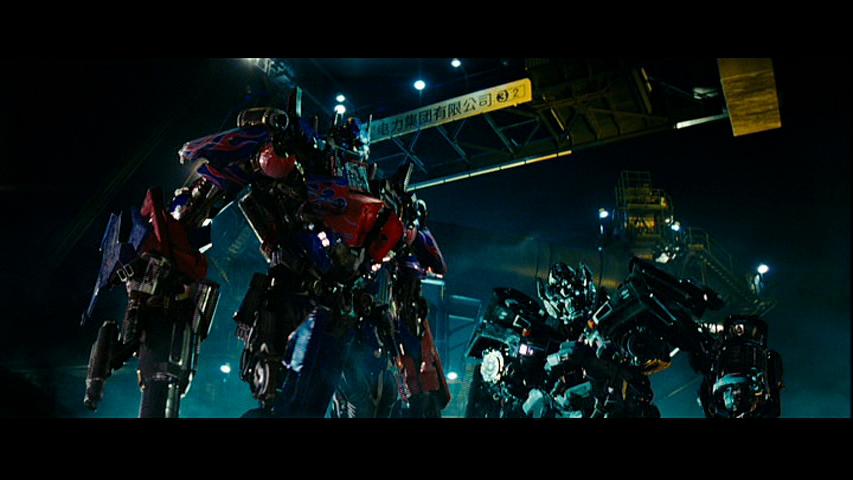 Optimus and Ironhide