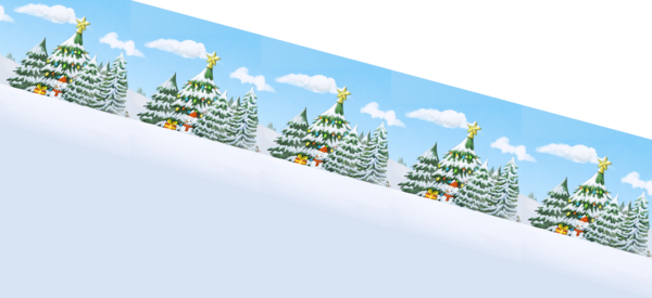 Ski Resort Slopes Loop