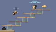 Stair Case of Planks - Full