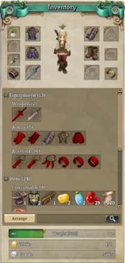 ToS Inventory