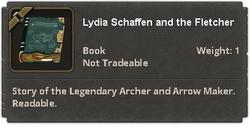 Lydia Schaffen and the Fletcher