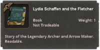 The Fletcher Master and Lydia Schaffen