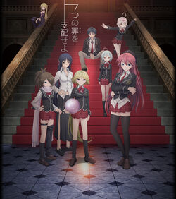 Trinity Seven Anime Poster