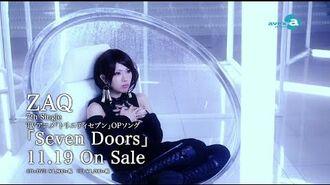 ZAQ TVアニメ「トリニティセブン」オープニングテーマソング「Seven Doors」 PV