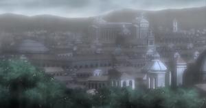 Rome cityscape 2