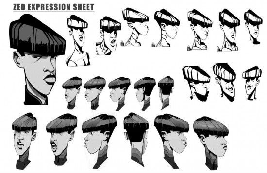 File:TRON-Uprising-Concept-Art-Zed-Expression-Sheet-550x356.jpg