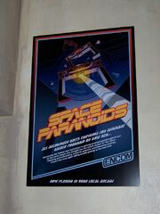 Space paranoids poster