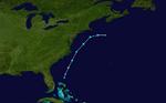 1997 Atlantic subtropical storm 1 track.png