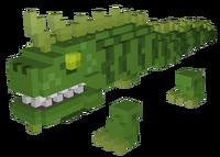 Emerald Iguana Model