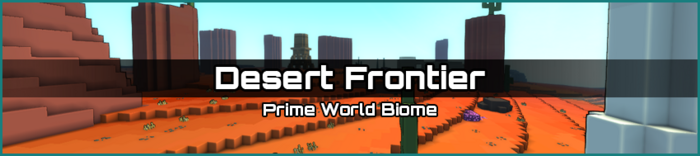 Desert Frontier biome banner