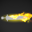 Weapon aura melee fire 01.pkfx
