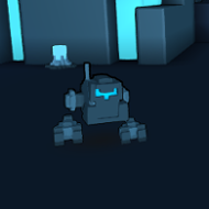 Biped Cannonbot ingame