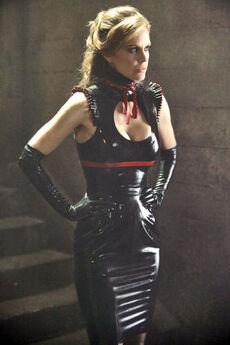 Pam Black Latex Season 3