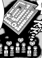 Amasogi Backgammon Set Manga