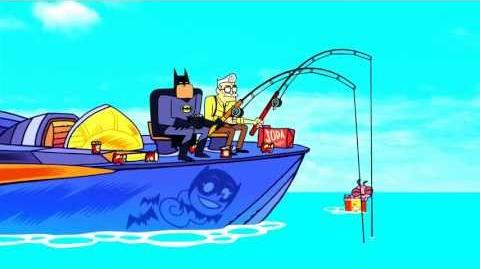 Batman Burping in Teen Titans Go!