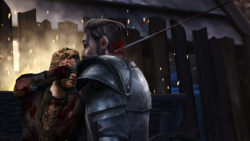 TID Harys Throat Impaled