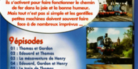 The Adventures of Thomas (French DVD)