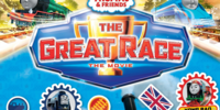 The Great Race: Sticker Activity Book