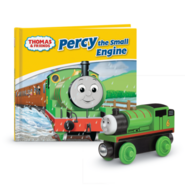 PercyWoodenRailwayStoryLibraryBookPack