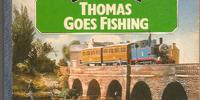 Thomas Goes Fishing (board book)
