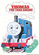 THOMAS THE TANK ENGINE&FRIENDS JAPANESE VHS VOL.1 SPECIALPOSTCARD