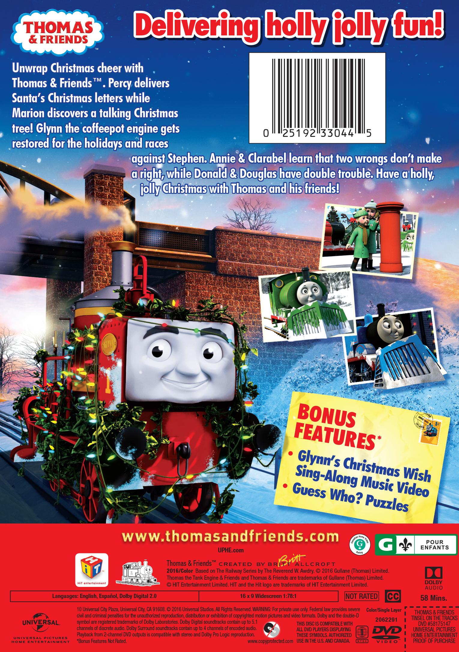 Tinsel on the Tracks | Thomas the Tank Engine Wikia | FANDOM ...