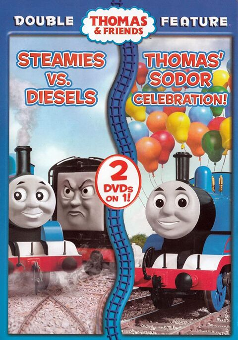 File:SteamiesvsDieselsandThomas'SodorCelebrationDoubleFeature.jpg
