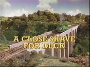ACloseShaveForDuck1993UStitlecard