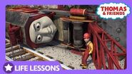 Rocky Got Derailed & Fell Off the Track Life Lesson Teamwork Thomas & Friends UK