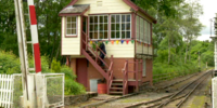 Mr. Edwards' Signal Box