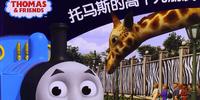 Thomas' Tall Friend (Chinese book)