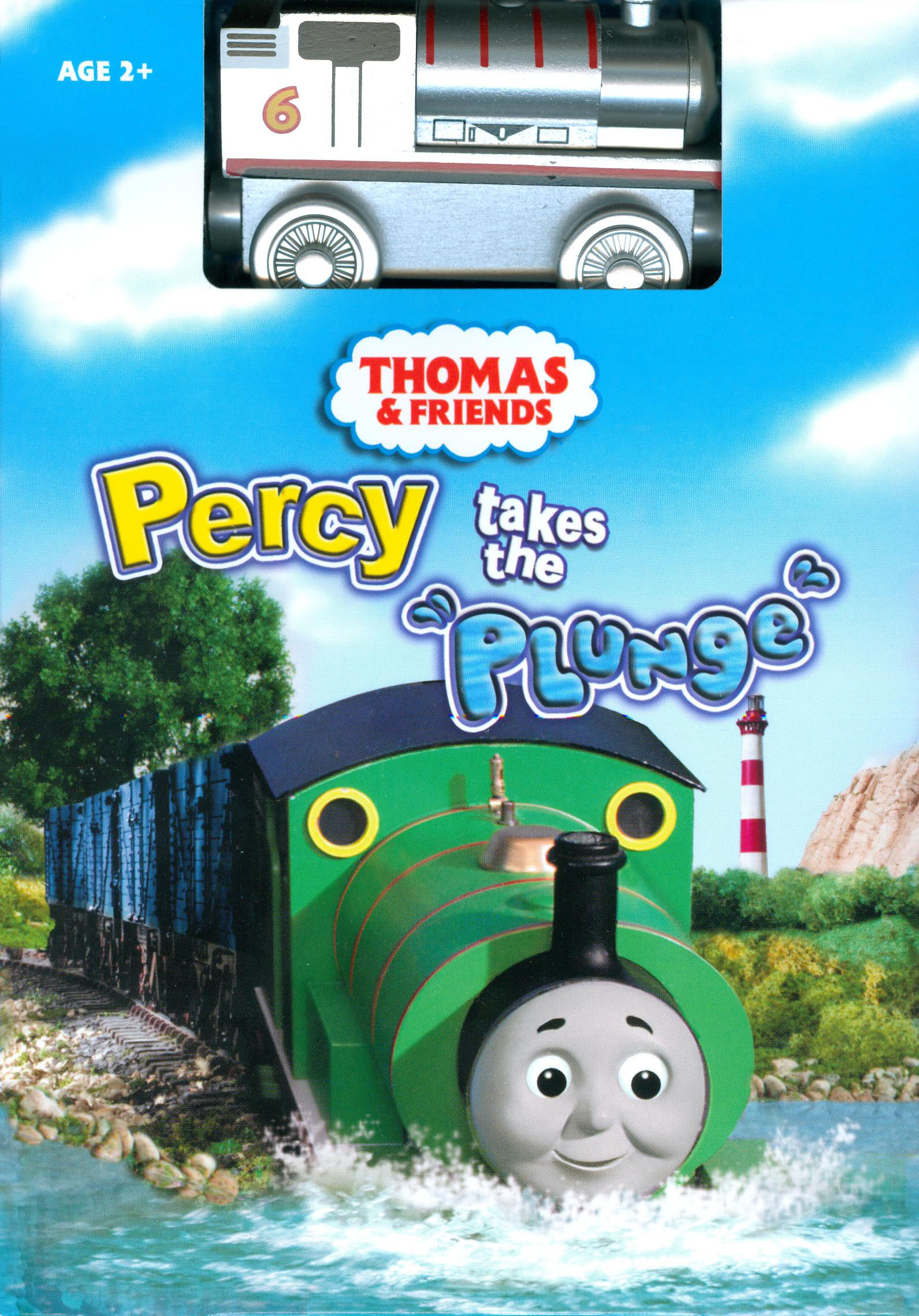 File:PercyTakesthePlungeDVDwithWoodenRailwaySilverPercy.PNG