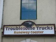 TroublesomeTrucksRunawayCoasterSign