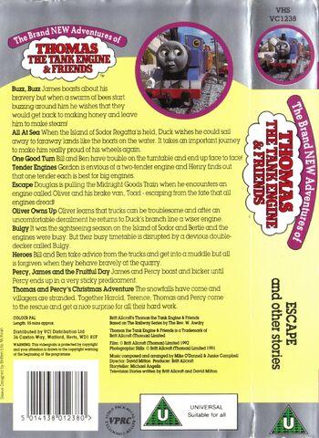 File:Escapeandotherstories1992VHSbackcoverandspine.jpg