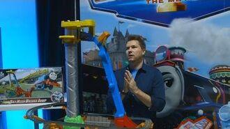 TrackMaster (Revolution) Sky-High Bridge Jump at New York Toy Fair 2016