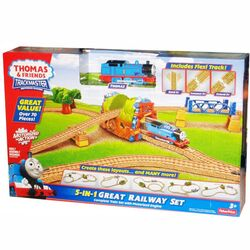 TrackMaster(Fisher-Price)5-In-1GreatRailwaySetbox
