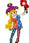 Clownpiece 15 idle