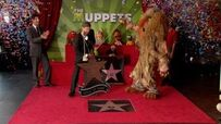 The Teletubbies Get Star On Hollywood Walk Of Fame In Front Of El Capitan Theatre