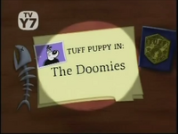 The Doomies Title Card