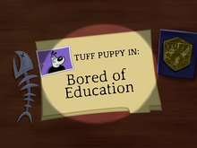 Bored of Education Title Card