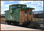 BN -12517 Caboose @ Grand Junction Colorado