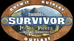 Tumblr Survivor Machu Picchu Opening