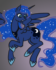 Princess Luna by Wiggles