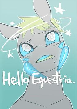 Hello equestria