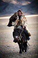 Mongolian-falconer