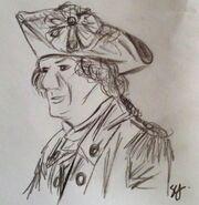 George Washington drawing by Sarah Gardner