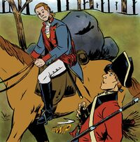 George Washington sees British soldier death in Rivals