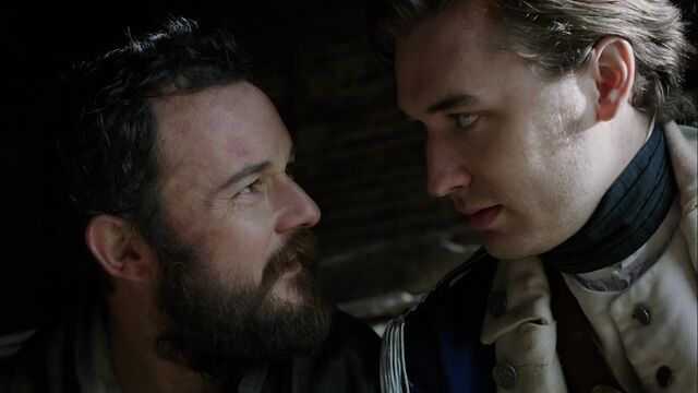 File:Benjamin Tallmadge and Caleb Brewster discuss John Grave Simcoe's fate.jpg